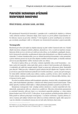 M. Drdácký, J. Lesák, J. Válek