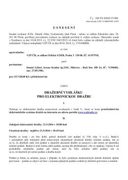 Soudní exekutor JUDr. Zdeněk Zítka, Exekutroský úřad