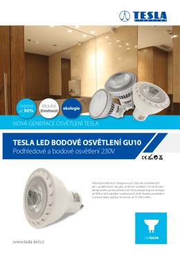 Tesla LED Bodové osvětlení GU10