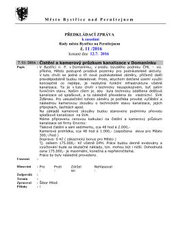 Předkládací zpráva 12_7_2016 - Město Bystřice nad Pernštejnem