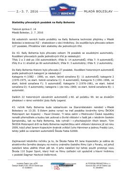 Tisková informace č. 14