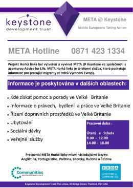 hotline leaflet-Czech