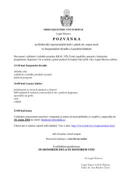 Einladung zum Ritterfest in Břeclav