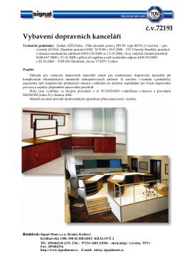 72191-KL_vybavení dopravních kanceláří