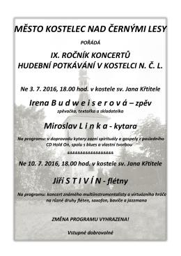 Hudební potkávání v Kostelci n. Č. l.