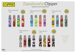 Zapalovače Clipper