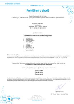Katalog 2013 - Ventilace sro