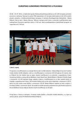 izvještaj - PK Medveščak
