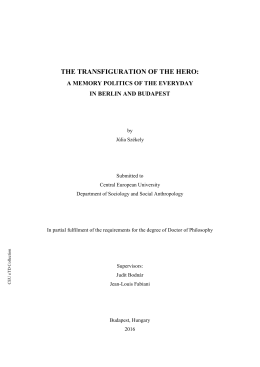 the transfiguration of the hero - CEU Library