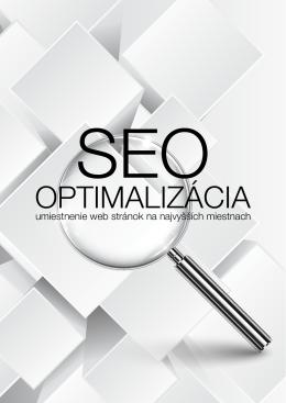 SEO Optimalizácia - umiestnenie web stránok na