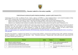 CPA - Finančná správa