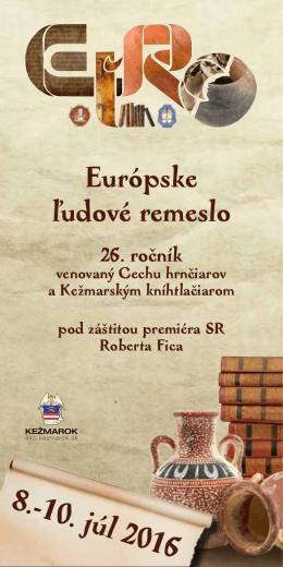 ELRO2016-program