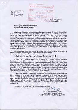 Štatistický úrad Slovenskek republiky