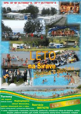 Plagát Šírava 2016 nostal