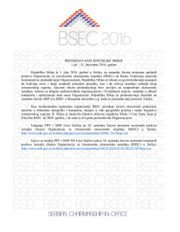 Organizacija za crnomorsku ekonomsku saradanju (BSEC)
