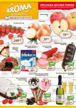 Specijlna ponuda - Aroma marketi | Miriše na Bolje!