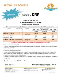 KRF (06.07 i 07.07.), SCHERIA BEACH, SOP.PREVOZ, 89
