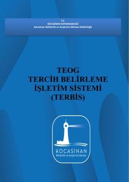 teog tercih belirleme işletim sistemi (terbis)