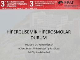 hiperglisemik hiperosmolar durum - ATUDER | Acil Tıp Uzmanları