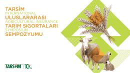 Türkiye`de Tarım Sigortaları Uygulamaları