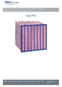 Type PFG