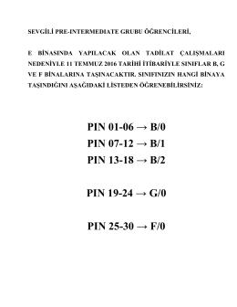 PIN 01-06 → B/0 PIN 07-12 → B/1 PIN 13-18 → B/2 PIN 19