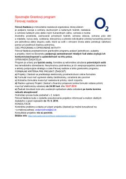 Grantovy_program_Ferovej_nadacie.