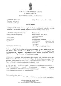 korlátolt - Kormanyhivatal.hu