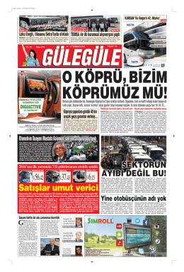 BA SA LI I - Gülegüle Gazetesi