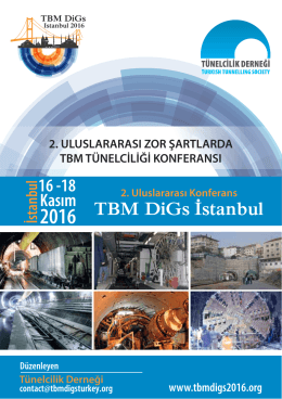 TBM DiGs Istanbul