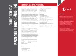 Elektrik ve Elektronik Mühendisliği