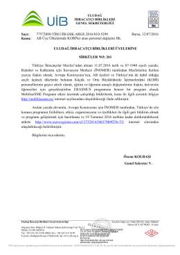 Sirküler No:261_AB Üye Ülkelerinde KOBİ`ler arası personel