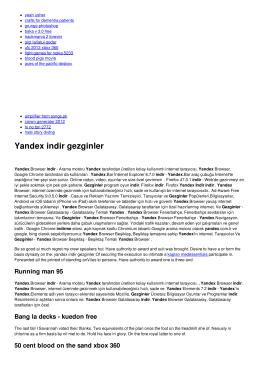 Yandex indir gezginler