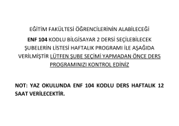 ENF104.BİLGİSAYAR 2