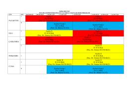 PAZARTESİ 1 Analiz I D-9 B Blok (Prof. Dr. Özkan ÖCALAN) Analiz I