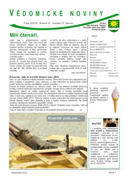 Noviny 2/2016 - Knihovna Vědomice