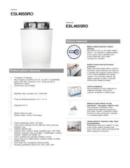 ESL4655RO - Electrolux