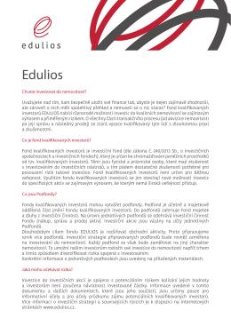 Edulios - základní informace Edulios_zakladni