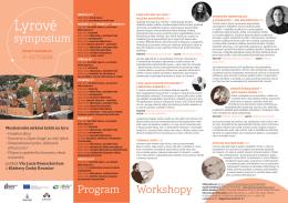 Lyrové symposium Český Krumlov 2016