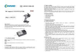 Překlad 1302221 - RC souprava Reely GT2 EVO