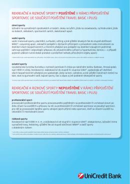 vybraných - UniCredit Bank