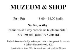 Muzeum Mikov