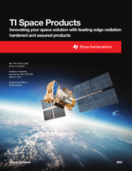 TI Space Products (Rev. D)