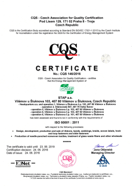 CQS ISO 50001