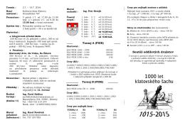 Šachklub Sokol Klatovy