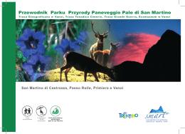 Przewodnik Parku Przyrody Paneveggio Pale di San Martino
