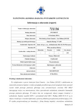 Informacja 711/16