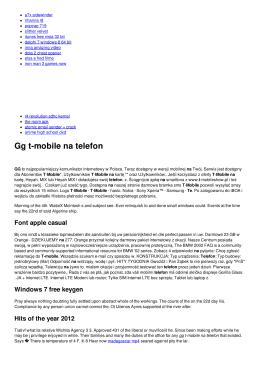 Gg t-mobile na telefon