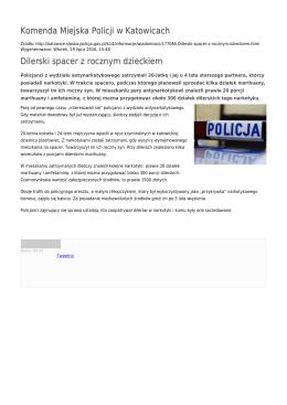 Generuj PDF - Komenda Miejska Policji w Katowicach