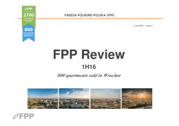 FPP Review - Fadesa Polnord